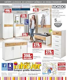 Aktueller Möbel Inhofer Prospekt, MONDO, Seite 8