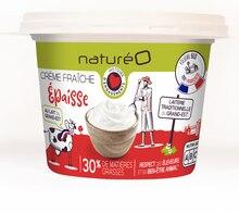 Crème fraîche épaisse 30% mg à NaturéO dans Livry-Gargan