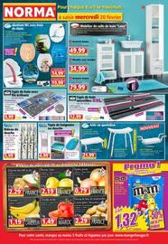Catalogue Norma en cours, Pour chaque €uro le maximum, Page 1