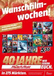 Aktueller Media-Markt Prospekt, Wunschfilmwochen!, Seite 1