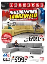 Aktueller Seats and Sofas Prospekt, Polster-Aktionsverkauf, Seite 1