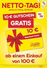 Aktueller Netto Marken-Discount Prospekt, WOCHENENDKRACHER, Seite 1