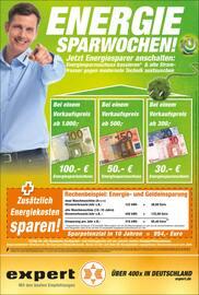Aktueller expert Prospekt, Energie-Sparwochen!, Seite 1
