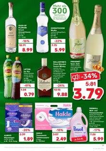 Alkoholische Getraenke im Kaufland Prospekt KÖNIGLICHE ANGEBOTE: HIER SPART JEDER! auf S. 38