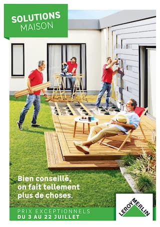 Catalogue Leroy Merlin en cours, Solutions Maison, Page 1