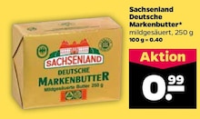 Butter von Sachsenland im aktuellen NETTO mit dem Scottie Prospekt für 0.99€