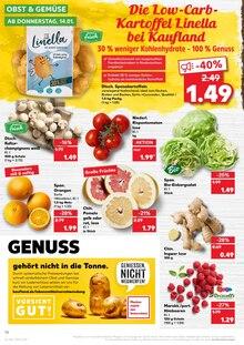 Lebensmittel im Kaufland Prospekt KÖNIGLICHE ANGEBOTE: HIER SPART JEDER! auf S. 9