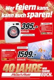 Media-Markt, Wer feiern kann, kann auch sparen! für Leipzig