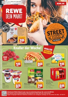 REWE, STREET FOOD FÜR ZUHAUSE für Stralsund