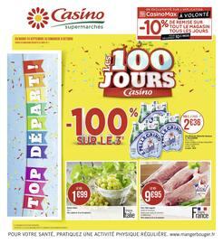 Catalogue Casino Supermarchés en cours, Les 100 jours Casino, Page 1