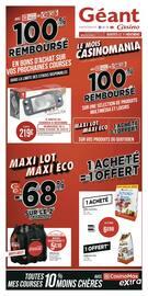 Catalogue Géant Casino en cours, Maxi lot, Maxi éco, Page 1
