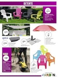 Catalogue Géant Casino en cours, Les belles inspirations jardin, Page 15