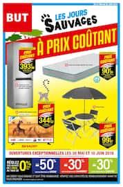 Catalogue But en cours, Les jours sauvages à prix coûtant, Page 1
