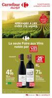 Catalogue Carrefour Market en cours, Apprendre à lire entre les vignes, Page 1