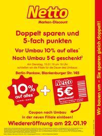 Aktueller Netto Marken-Discount Prospekt, Wir bauen um - Sie sparen gleich doppelt!, Seite 1