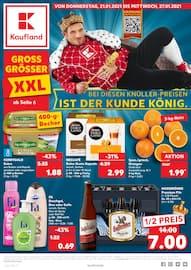Aktueller Kaufland Prospekt, BEI DIESEN KNÜLLER-PREISEN IST DER KUNDE KÖNIG., Seite 1