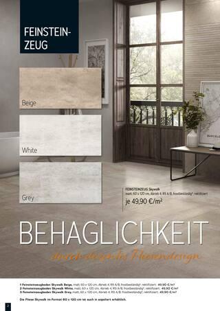 Aktueller M. Dohmen GmbH Prospekt, Fliesenangebote, Seite 2