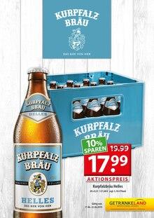 Getränkeland, KURPFALZBRÄU für Stralsund1