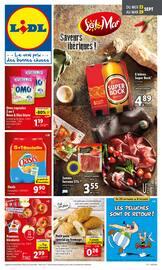 Catalogue Lidl en cours, Saveurs ibériques !, Page 1