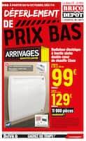 Catalogue Brico Dépôt en cours, Déferlement de prix bas, Page 1