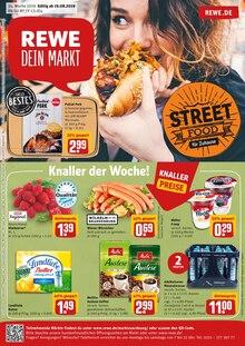 REWE, STREET FOOD FÜR ZUHAUSE für Ismaning