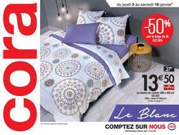 Catalogue Cora en cours, Le Blanc, Page 1