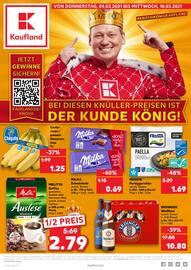 Aktueller Kaufland Prospekt, BEI DIESEN KNÜLLER-PREISEN IST DER KUNDE KÖNIG!, Seite 1