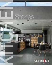 Catalogue Cuisines Schmidt en cours, Kitchen Stories 2018, Page 1