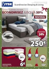 Catalogue Jysk en cours, Grandes offres de Noël, économisez jusqu'à 50%, Page 1