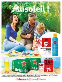 Catalogue Auchan en cours, Ausoleil !, Page 1