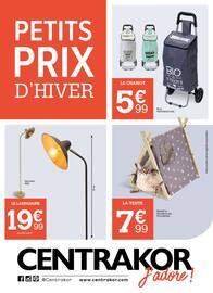 Catalogue Centrakor en cours, Petits prix d'hiver, Page 1