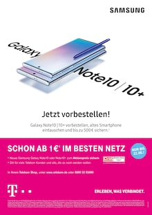 Telekom Shop, SAMSUNG GALAXY NOTE 10 / 10+ für Berlin