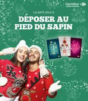 Catalogue Carrefour Cartes Cadeaux en cours, Le petit plus à déposer au pied du sapin, Page 1