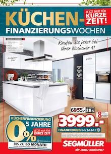 Segmüller - Segmüller: Küchenfinanzierungswochen