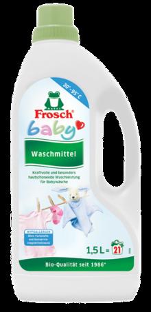 Waschmittel von Frosch im aktuellen BUDNI Prospekt für 3.49€