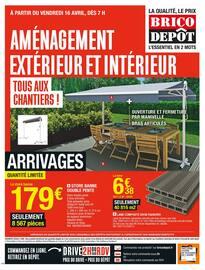 Catalogue Brico Dépôt en cours, Aménagement extérieur et intérieur, tous aux chantiers !, Page 1