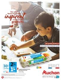 Catalogue Auchan en cours, Vos plus beaux moments inspirent nos meilleurs produits, Page 1