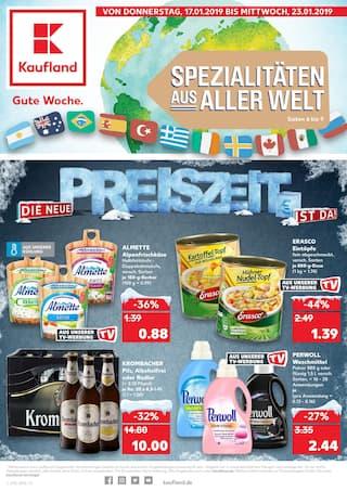 Aktueller Kaufland Prospekt, Die neue Preiszeit ist da!, Seite 1