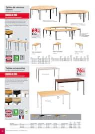 Catalogue Office DEPOT en cours, Catalogue Mobilier, tout pour votre bureau, Page 50