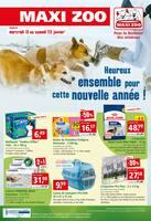 Catalogue Maxi Zoo en cours, Heureux ensemble pour cette nouvelle année !, Page 1