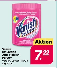Waschmittel von Vanish im aktuellen NETTO mit dem Scottie Prospekt für 7.99€