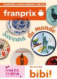 Catalogue Franprix en cours, Saveurs du monde, Page 1