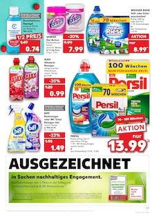 Waschmittel im Kaufland Prospekt KNÜLLER auf S. 31