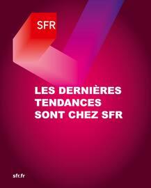 Catalogue SFR en cours, Les dernières tendances sont chez SFR, Page 1
