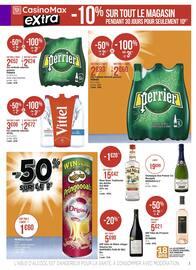 Catalogue Casino Supermarchés en cours, Les bons plans montent le son !, Page 7