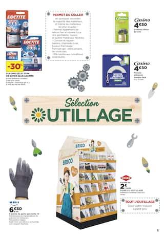 Catalogue Casino Supermarchés en cours, 100% Brico Déco, Page 5