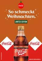 Aktueller Coca-Cola Prospekt, So schmeckt Weihnachten., Seite 1