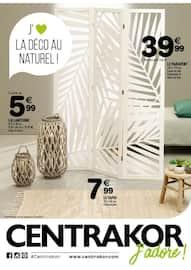 Catalogue Centrakor en cours, J'aime la déco au naturel !, Page 1
