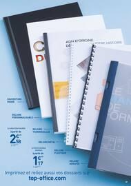 Catalogue Top Office en cours, Atelier Impression, Page 7