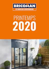 Catalogue Bricoman en cours, Printemps 2020, Page 1
